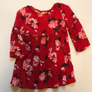 Old Navy Floral Dress - 12-18 months